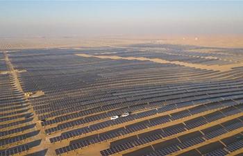 In pics: Dalad PV Power Base in Kubuqi Desert in Inner Mongolia