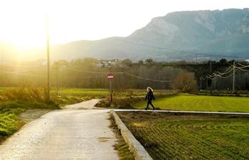 Village scenery in Lleida, Spain