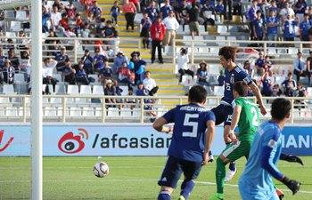 Yuya Osako double leads Japan to edge Turkmenistan in Asian Cup