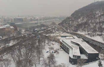 In pics: snow-covered winter scenery in Budapest, Hungary