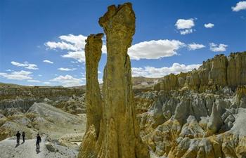 Scenery of Zanda County in China's Tibet