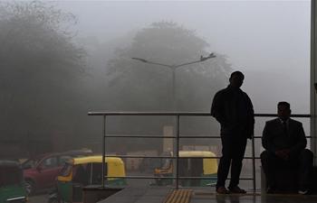 Thick fog hits New Delhi, India