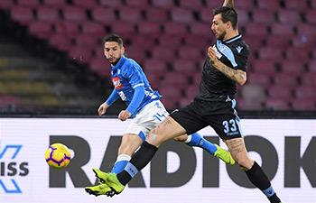 Serie A: Napoli beats Lazio 2-1