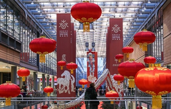 Chinese cultural celebrations for upcoming Spring Festival kick off in downtown Berlin