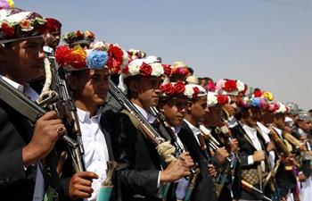 Mass wedding held for 100 couples in Sanna, Yemen