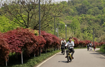 People enjoy holiday for Qingming Festival across China