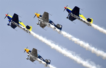 11th Air Sports Culture and Tourism Festival kicks off in China's Henan