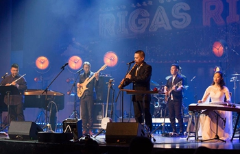 Chinese jazz artists shine at Riga music festival