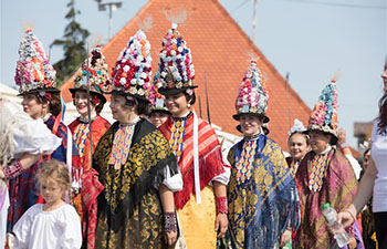 53rd Dakovacki vezovi festival marked in Dakovo, Croatia