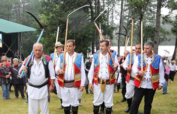 Annual Rajac Scythe Festival held in Serbia