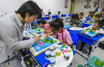 Activities held to enrich children's life during summer vacation
