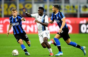 Serie A match: Inter Milan vs. Lazio