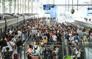 Railway stations across China witness travel rush