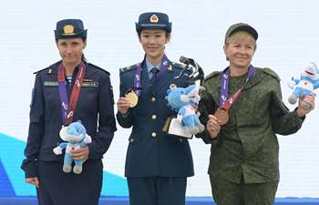 In pics: awarding ceremony of parachuting at Military World Games