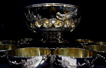 Silverware exhibition held at Xi'an Museum