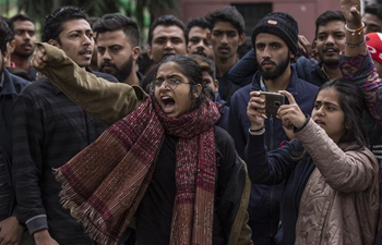 Students protest against new citizenship law across universities in India