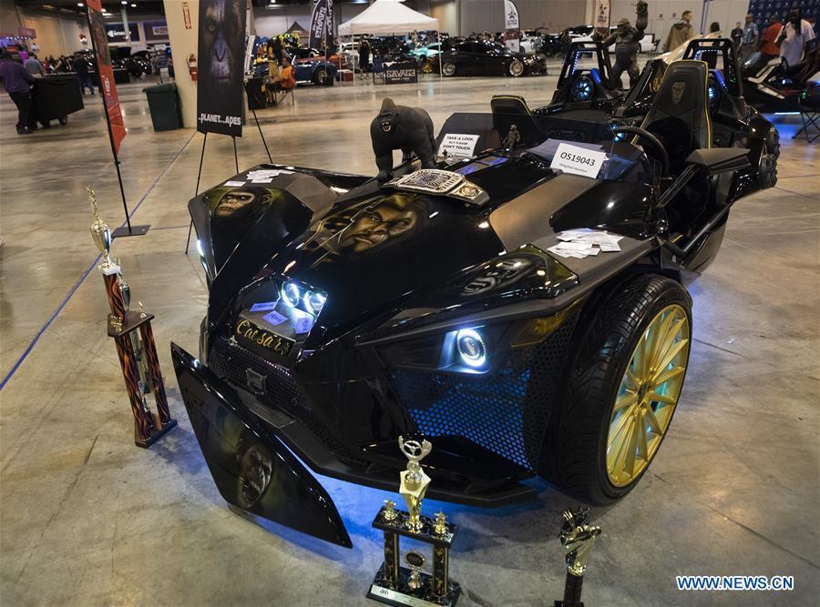 Omni12 Car Show held in Houston, U S  - Xinhua   English news cn
