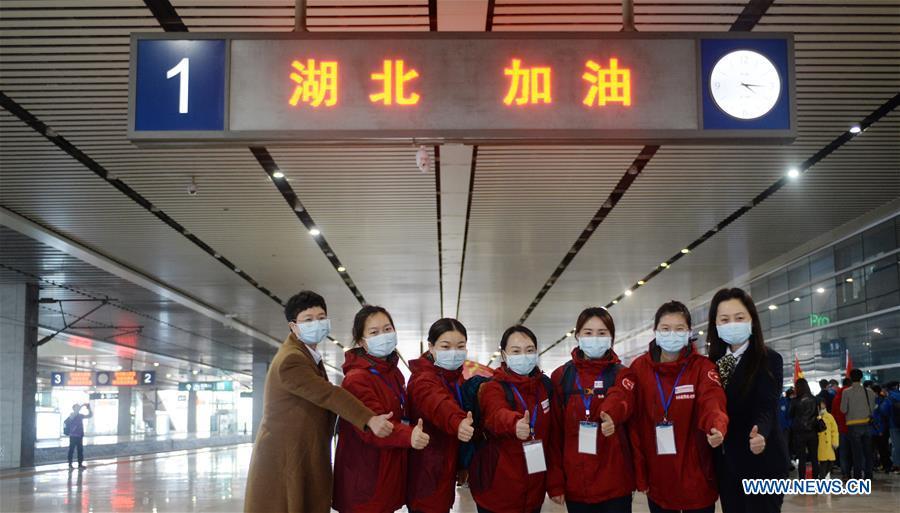 CHINA-HUNAN-MEDICAL TEAM-HUBEI-NCP-AID (CN)