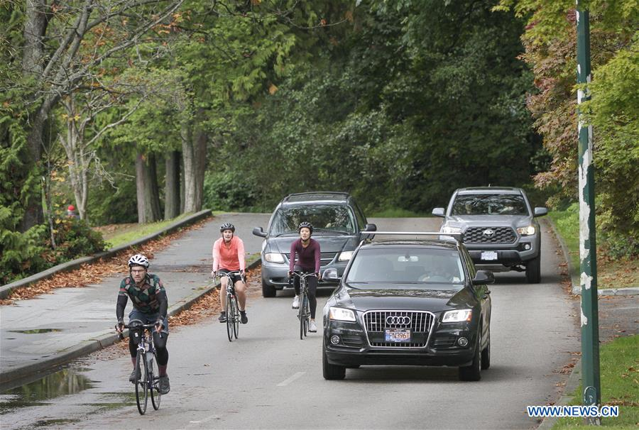 CANADA-VANCOUVER-STANLEY PARK-TRAFFIC-REOPENING