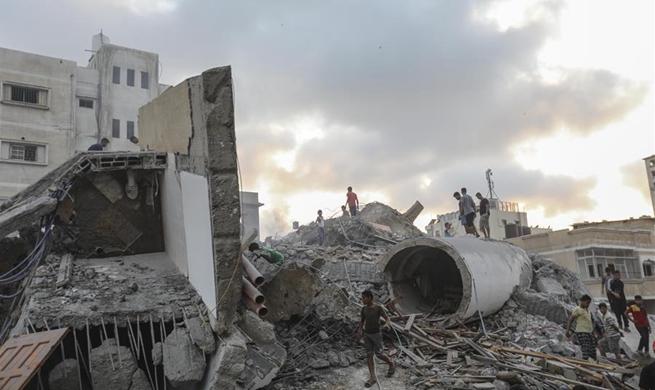 7 Palestinians injured by Israeli retaliatory airstrikes in Gaza