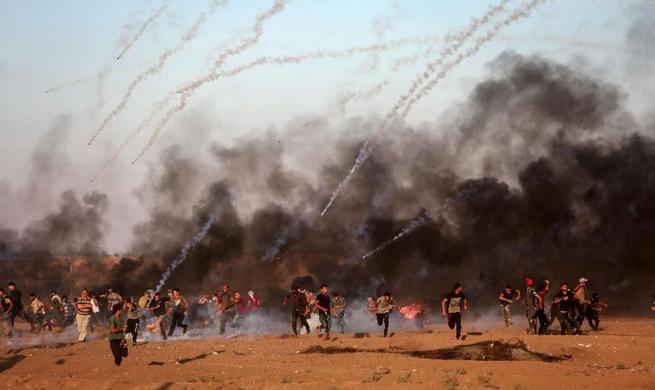 Israeli army strikes 2 Hamas posts in northern Gaza Strip