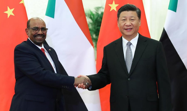 Xi meets Sudanese president
