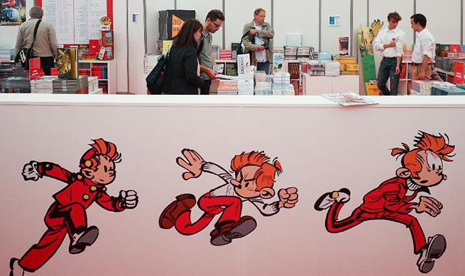 Annual Comic Strip Festival held in Brussels