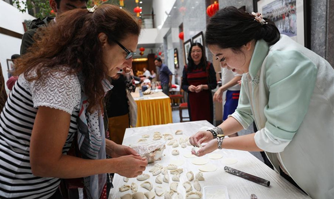 China Open House Day attracts visitors at Chinese Mission to EU in Brussels