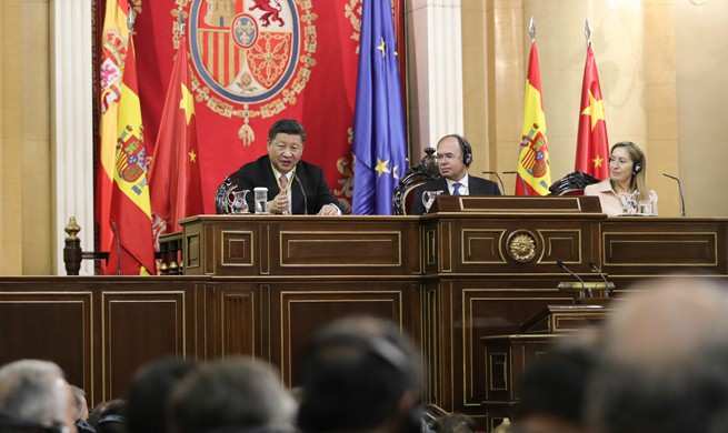 Xi: China-Spain relations facing new opportunities for development