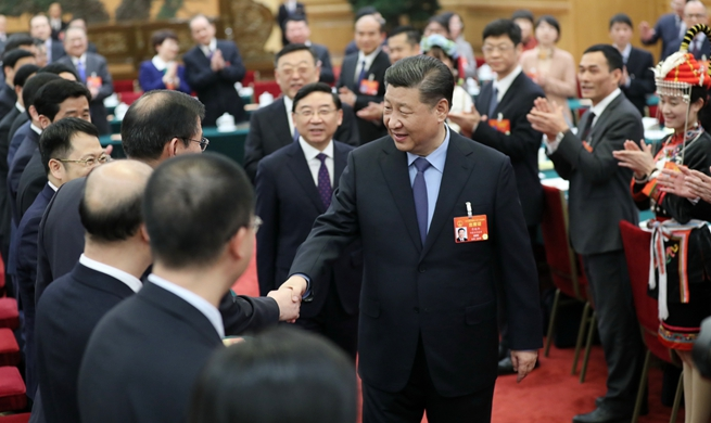 Xi joins deliberation with Fujian deputies at annual legislative session