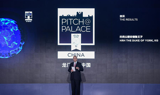 Final of Pitch@Palace China held in Shenzhen