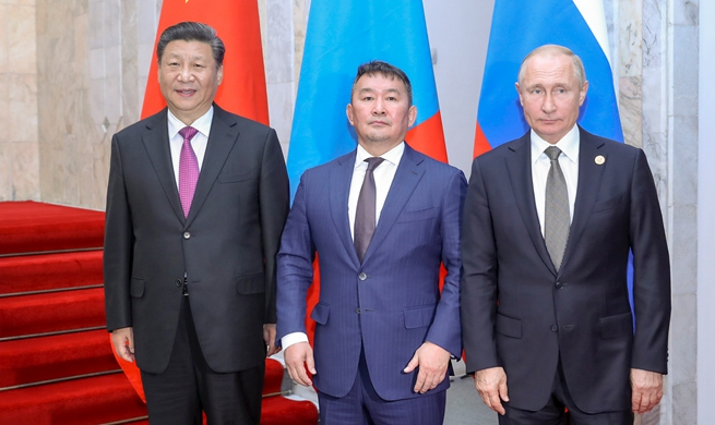 China, Russia, Mongolia vow to strengthen trilateral cooperation