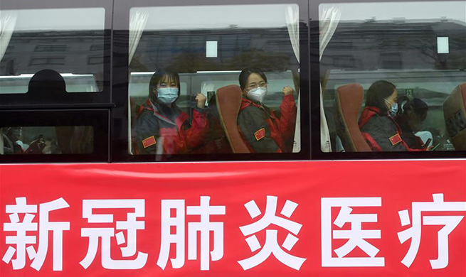 Fourth batch of 453 medical staff from Zhejiang depart for Wuhan