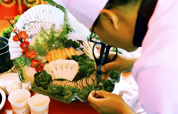 Wild Fungus Food Culture Festival held in SW China's Yunnan