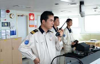 Emergency drill held on Tian'en vessel en route to Europe