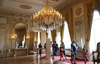 Royal Palace of Brussels opens to public