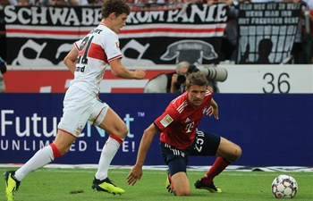 Bayern beat Stuttgart 3-0 in German Bundesliga