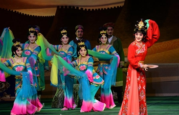 5th Silk Road Int'l Arts Festival opens in Xi'an, NW China's Shaanxi