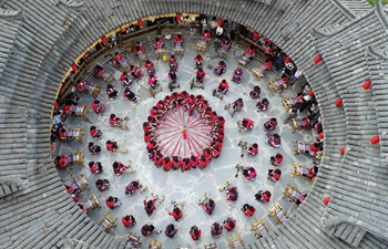 People across China celebrate 1st Farmers' Harvest Festival