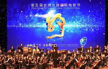 5th Silk Road Int'l Film Festival kicks off in Xi'an, China's Shaanxi