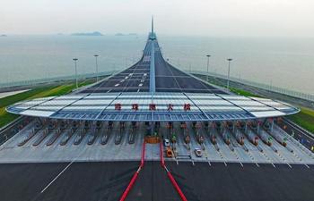 Hong Kong-Zhuhai-Macao Bridge officially opens to traffic