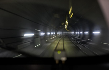 China plans first undersea tunnel for high-speed trains