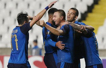 Apollon beats Lazio 2-0 during UEFA Europe League Group H match