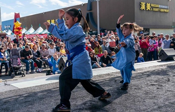 Lunar New Year celebration held in Alhambra of Los Angeles