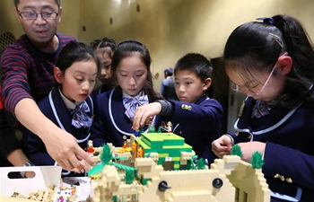"""""""Vertical City"""" model created at China's tallest building"""