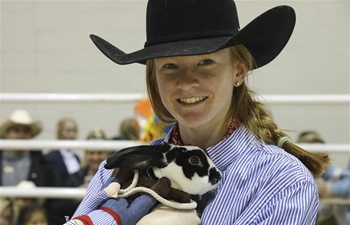 Youth Breeding Rabbit and Cavy Costume Contest held in Houston, U.S.