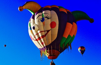 St. Patrick's Day Hot Air Balloon Rallye held in New Mexico, U.S.