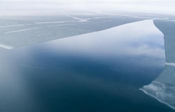 China's Qinghai Lake melts