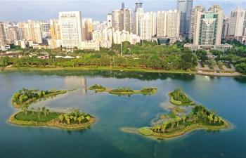 View of south China city Nanning