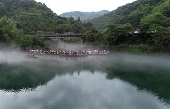 Scenery of Xiaodong River in China's Hunan